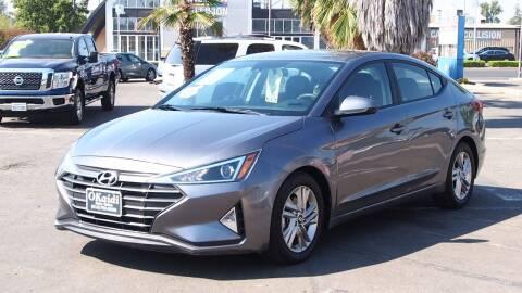 2019 Hyundai Elantra for sale at Okaidi Auto Sales in Sacramento CA