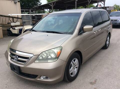 2007 Honda Odyssey for sale at OASIS PARK & SELL in Spring TX