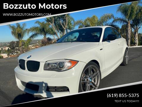 2013 BMW 1 Series for sale at Bozzuto Motors in San Diego CA