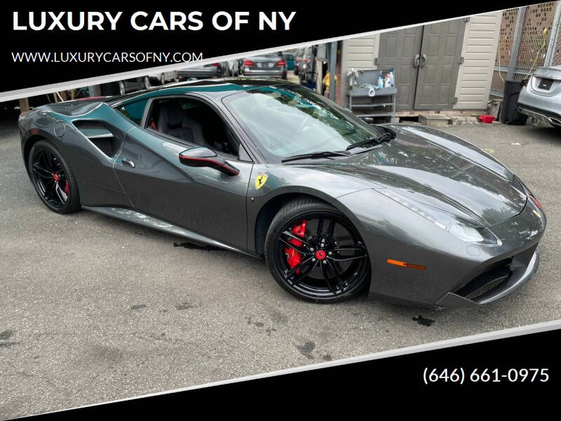 2017 Ferrari 488 GTB for sale at LUXURY CARS OF NY in Queens NY