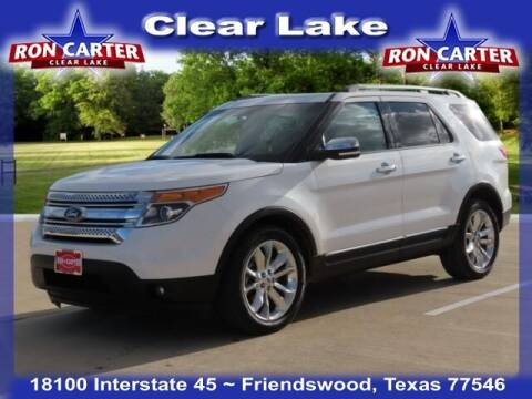 2014 Ford Explorer for sale at Ron Carter  Clear Lake Used Cars in Houston TX
