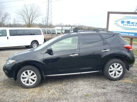 2011 Nissan Murano for sale at H&L MOTORS, LLC in Warsaw IN