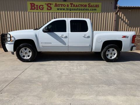 2010 Chevrolet Silverado 1500 for sale at BIG 'S' AUTO & TRACTOR SALES in Blanchard OK