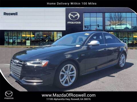 2016 Audi S4 for sale at Mazda Of Roswell in Roswell GA