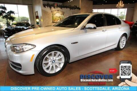2014 BMW 5 Series for sale at Discover Pre-Owned Auto Sales in Scottsdale AZ