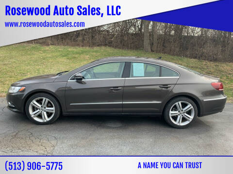 2013 Volkswagen CC for sale at Rosewood Auto Sales, LLC in Hamilton OH