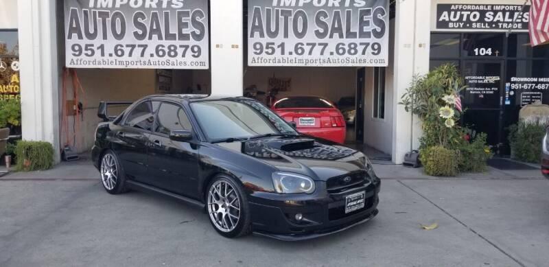 2004 Subaru Impreza for sale at Affordable Imports Auto Sales in Murrieta CA