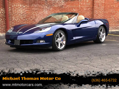2006 Chevrolet Corvette for sale at Michael Thomas Motor Co in Saint Charles MO