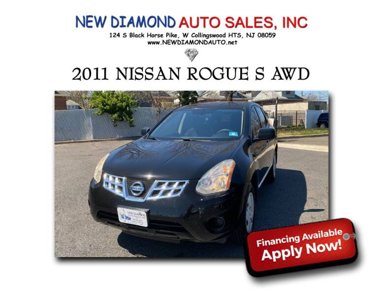 2011 Nissan Rogue for sale at New Diamond Auto Sales, INC in West Collingswood NJ