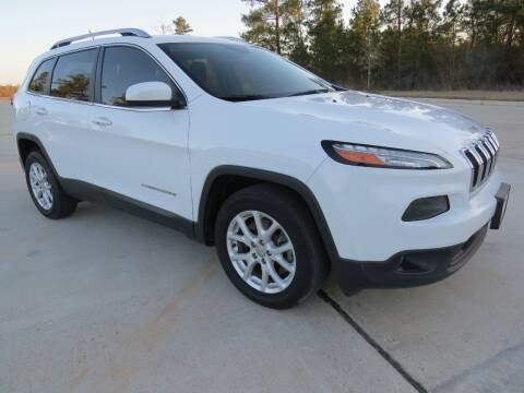 2018 Jeep Cherokee for sale at Fincher's Texas Best Auto & Truck Sales in Tomball TX