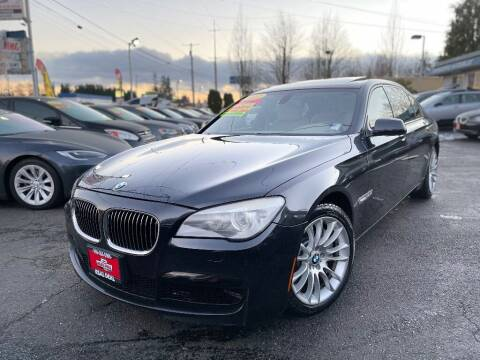 2012 BMW 7 Series for sale at Real Deal Cars in Everett WA