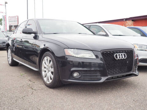 2010 Audi A4 for sale at Sunrise Used Cars INC in Lindenhurst NY