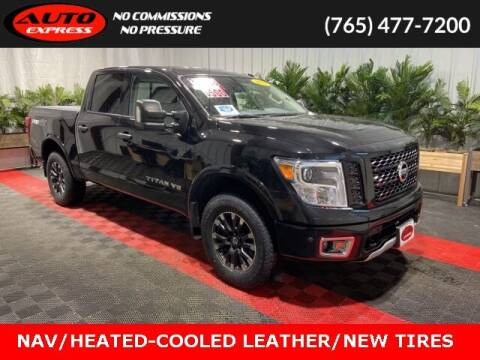 2018 Nissan Titan for sale at Auto Express in Lafayette IN