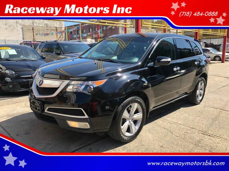2012 Acura MDX for sale at Raceway Motors Inc in Brooklyn NY
