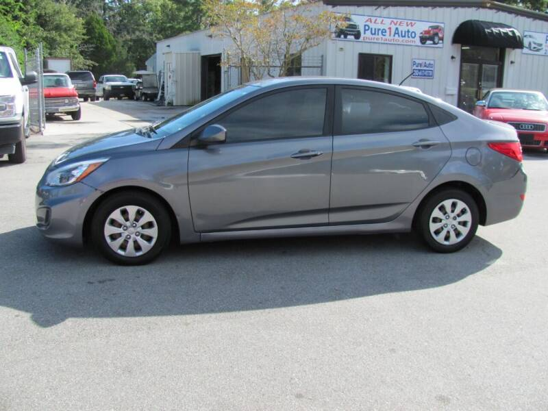 2016 Hyundai Accent for sale at Pure 1 Auto in New Bern NC