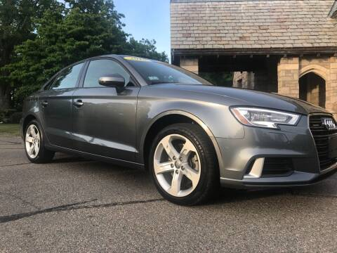 2018 Audi A3 for sale at Reynolds Auto Sales in Wakefield MA