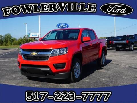 2019 Chevrolet Colorado for sale at FOWLERVILLE FORD in Fowlerville MI