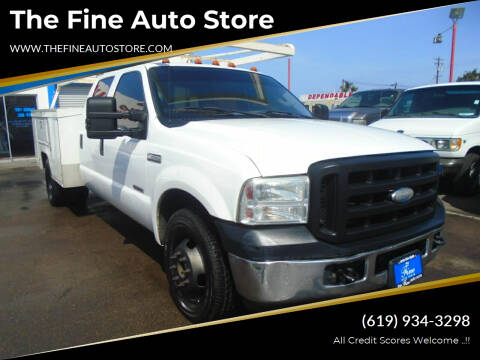 2007 Ford F-350 Super Duty for sale at The Fine Auto Store in Imperial Beach CA
