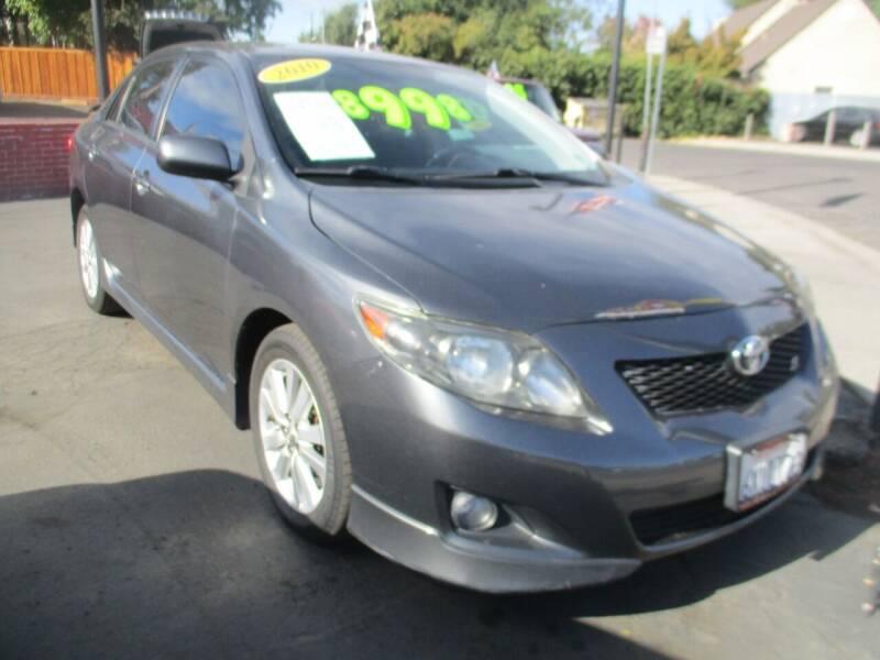 2010 Toyota Corolla for sale at Quick Auto Sales in Modesto CA