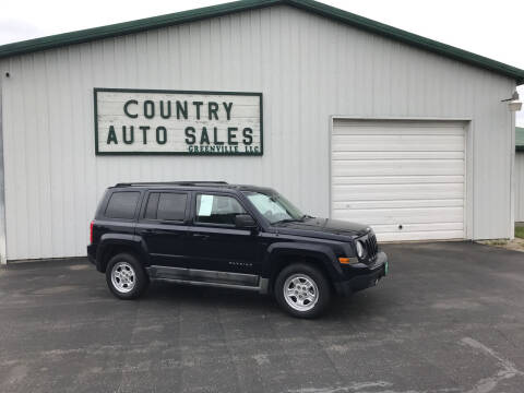 2011 Jeep Patriot for sale at COUNTRY AUTO SALES LLC in Greenville OH