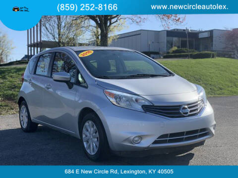 2016 Nissan Versa Note for sale at New Circle Auto Sales LLC in Lexington KY