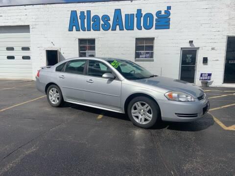 2010 Chevrolet Impala for sale at Atlas Auto in Rochelle IL