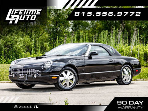 2003 Ford Thunderbird for sale at Lifetime Auto in Elwood IL