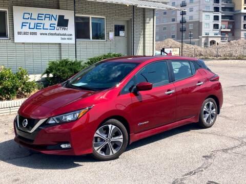 2018 Nissan LEAF for sale at Clean Fuels Utah in Orem UT