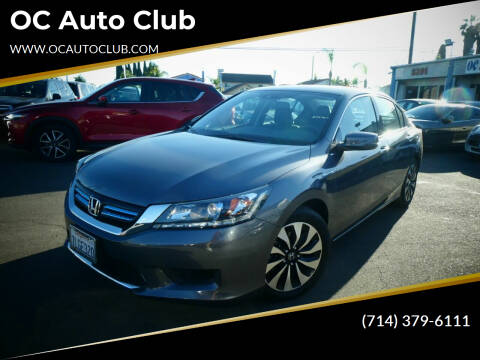 2015 Honda Accord Hybrid for sale at OC Auto Club in Midway City CA