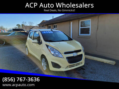 2013 Chevrolet Spark for sale at ACP Auto Wholesalers in Berlin NJ
