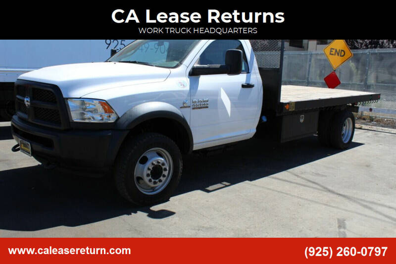 2017 RAM Ram Chassis 4500 for sale at CA Lease Returns in Livermore CA