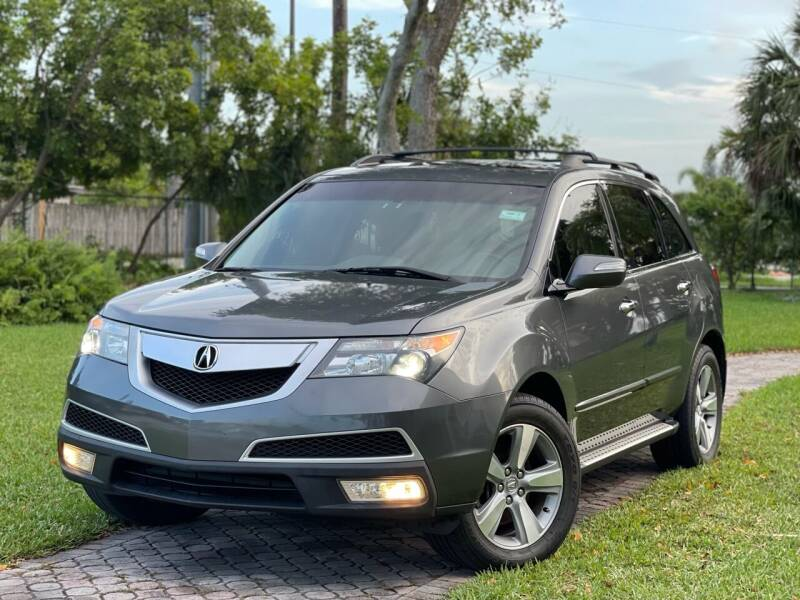 2012 Acura MDX for sale at Citywide Auto Group LLC in Pompano Beach FL