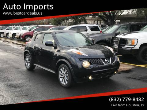 2012 Nissan JUKE for sale at Auto Imports in Houston TX