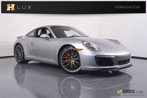 2017 Porsche 911 for sale at HGREG LUX EXCLUSIVE MOTORCARS in Pompano Beach FL