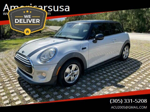 2015 MINI Hardtop 2 Door for sale at Americarsusa in Hollywood FL