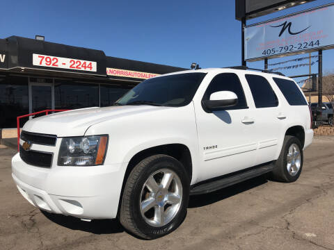 2012 Chevrolet Tahoe for sale at NORRIS AUTO SALES in Oklahoma City OK