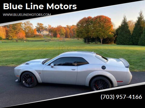 2019 Dodge Challenger for sale at Blue Line Motors in Winchester VA