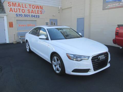 2012 Audi A6 for sale at Small Town Auto Sales in Hazleton PA