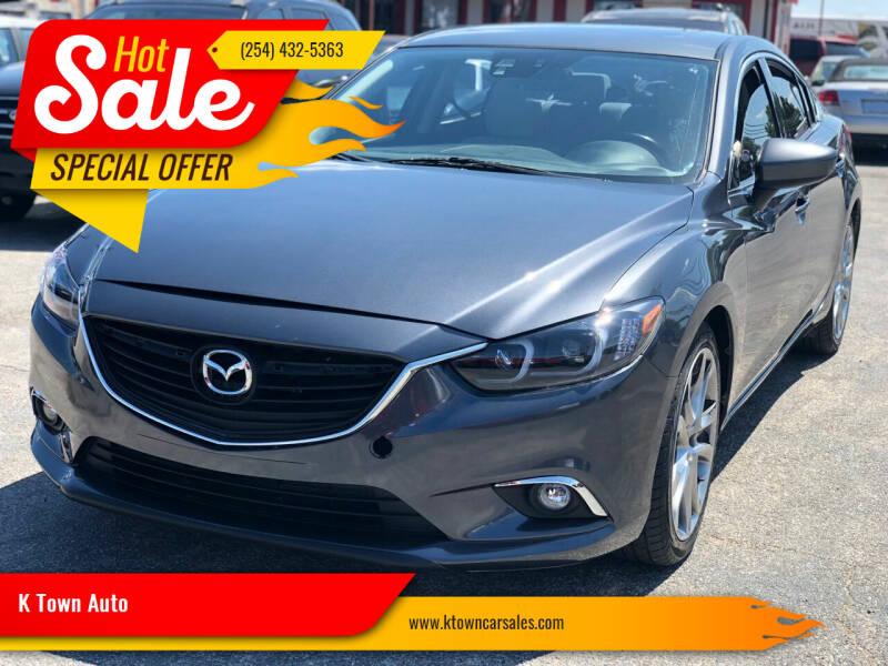 2014 Mazda MAZDA6 for sale at K Town Auto in Killeen TX