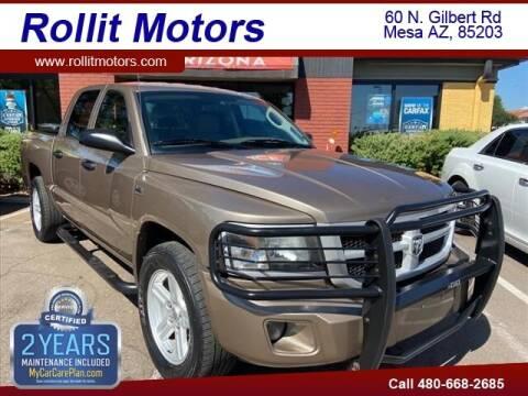 2010 Dodge Dakota for sale at Rollit Motors in Mesa AZ