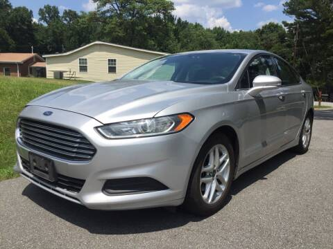 2016 Ford Fusion for sale at ATLANTA AUTO WAY in Duluth GA