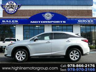 2016 Lexus RX 350 for sale at Highline Group Motorsports in Lowell MA