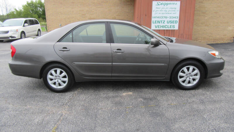 2003 Toyota Camry for sale at LENTZ USED VEHICLES INC in Waldo WI