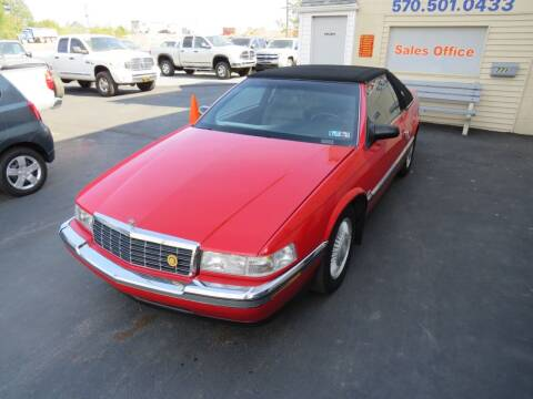 1992 Cadillac Eldorado for sale at Small Town Auto Sales in Hazleton PA