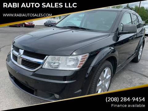 2009 Dodge Journey for sale at RABI AUTO SALES LLC in Garden City ID