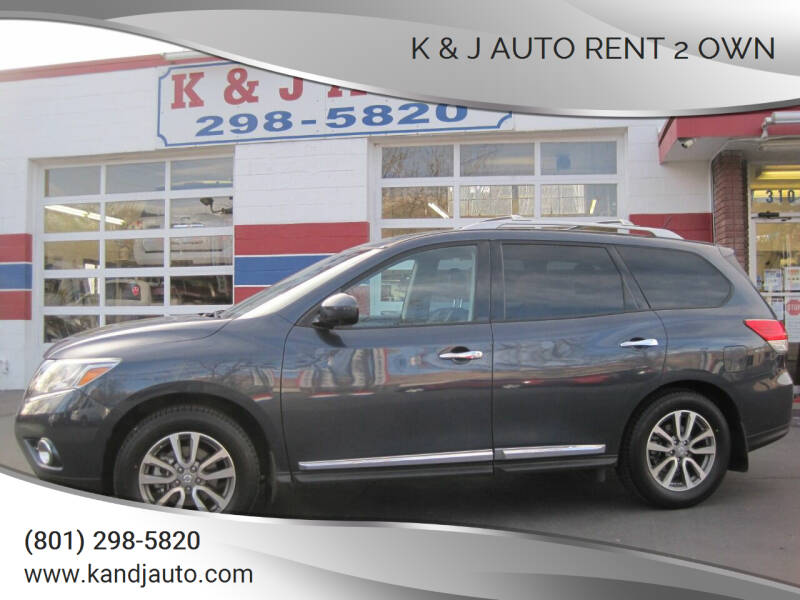 2015 Nissan Pathfinder for sale at K & J Auto Rent 2 Own in Bountiful UT