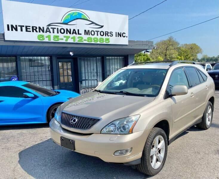 2004 Lexus RX 330 for sale at International Motors & Service INC in Nashville TN
