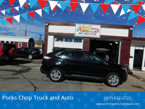 2017 Ford Edge for sale at Pork Chops Truck and Auto in Cheyenne WY