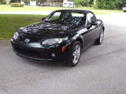 2007 Mazda MX-5 Miata for sale at LANCASTER'S AUTO SALES INC in Fruitland Park FL
