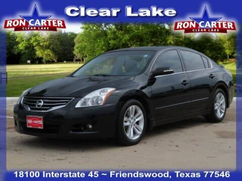 2012 Nissan Altima for sale at Ron Carter  Clear Lake Used Cars in Houston TX